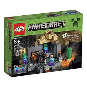 8 LEGO Minecraft The Dungeon Building Kit