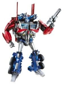 how to transform optimus prime into a truck instructions