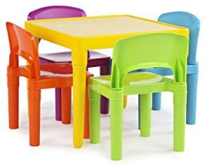 Tot Tutors Kids Plastic Table U0026 Chair Set