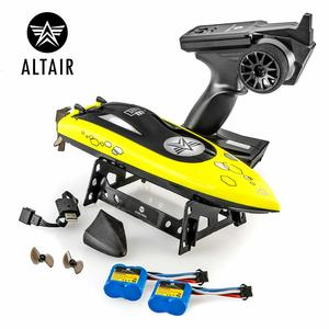 Altair AA Auqua Fast RC Remote Control yellow Boat for Pools and Lakes