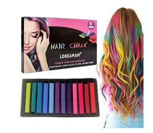 Temporary Hair Chalk-Washable Hair Color