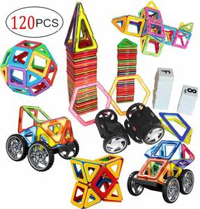 DreambuilderToy 120 PCS Creative Magnetic Building Block Set