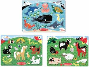 Melissa and Doug Peg Puzzle Set