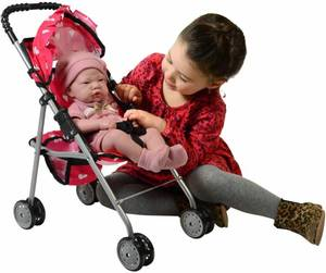 New York Doll Collection My First Stroller